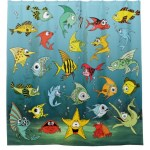 Cartoon Fish Underwater Merchandise