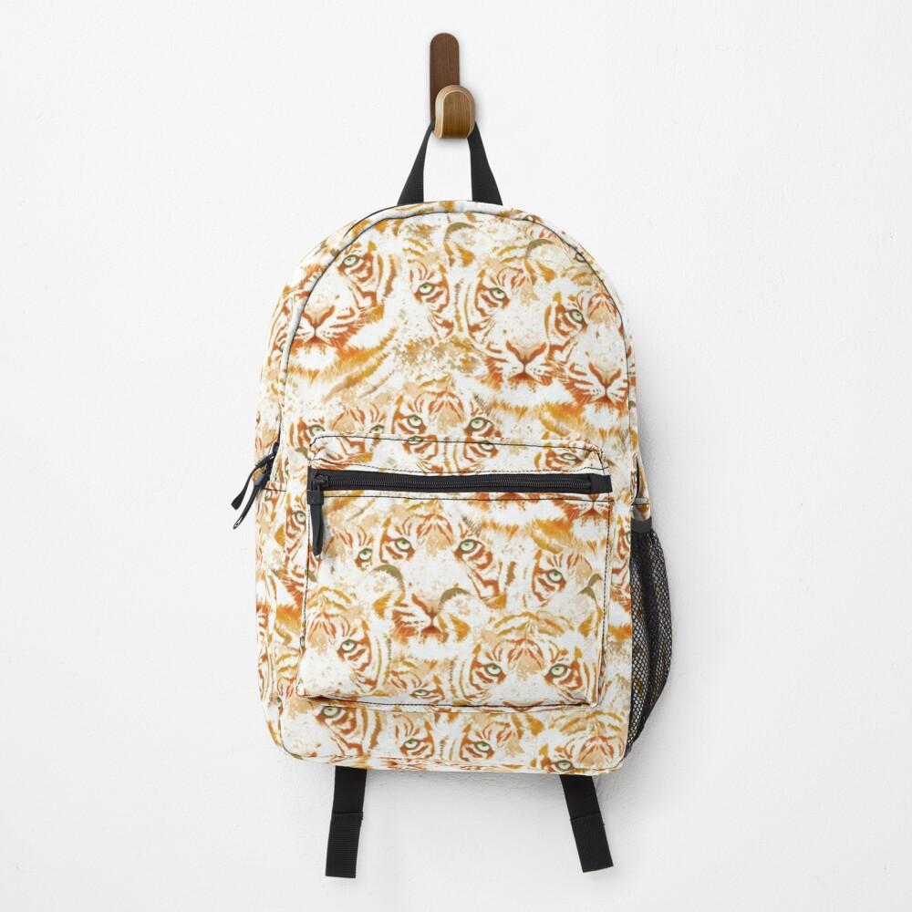 Tiger Face Design Pattern Backpack