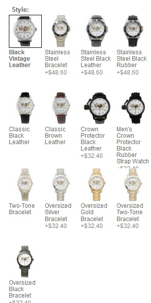 Novelty Graphic Watches
