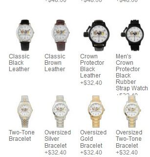 Novelty Graphic Watches are available for Men, Women and Children