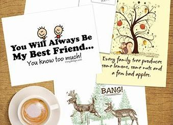 Featured Postcards | Novelty and Unique Postcard Gifts