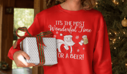 It's The Most Wonderful Time For a Beer Shirts. Most Wonderful Time for a Beer Gifts