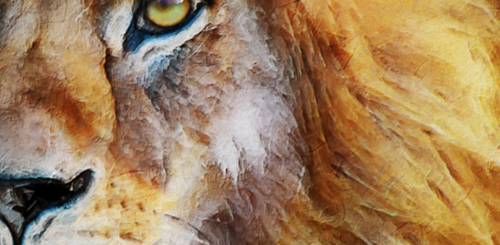 Lion Oil Painting Prints and Products