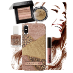 Geometric Rose Gold Blush Glitter Gift Products