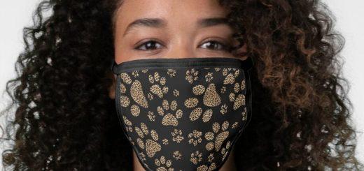 Stylish Fashionable Face Masks   Pet Pawprints