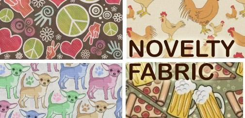 Novelty Print Fabric   Fun, Custom Design Print Pattern Sewing Fabric