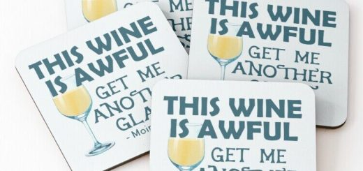 Moira Rose Wine Coasters - Schitt's Creek Quote