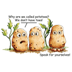Funny Potatoe Pun T-Shirts and Products