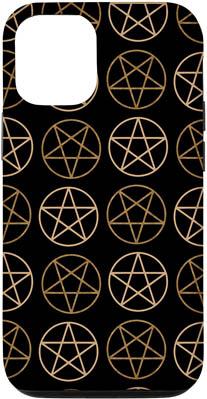 iPhone 12/12 Pentagram Circle Stars Case