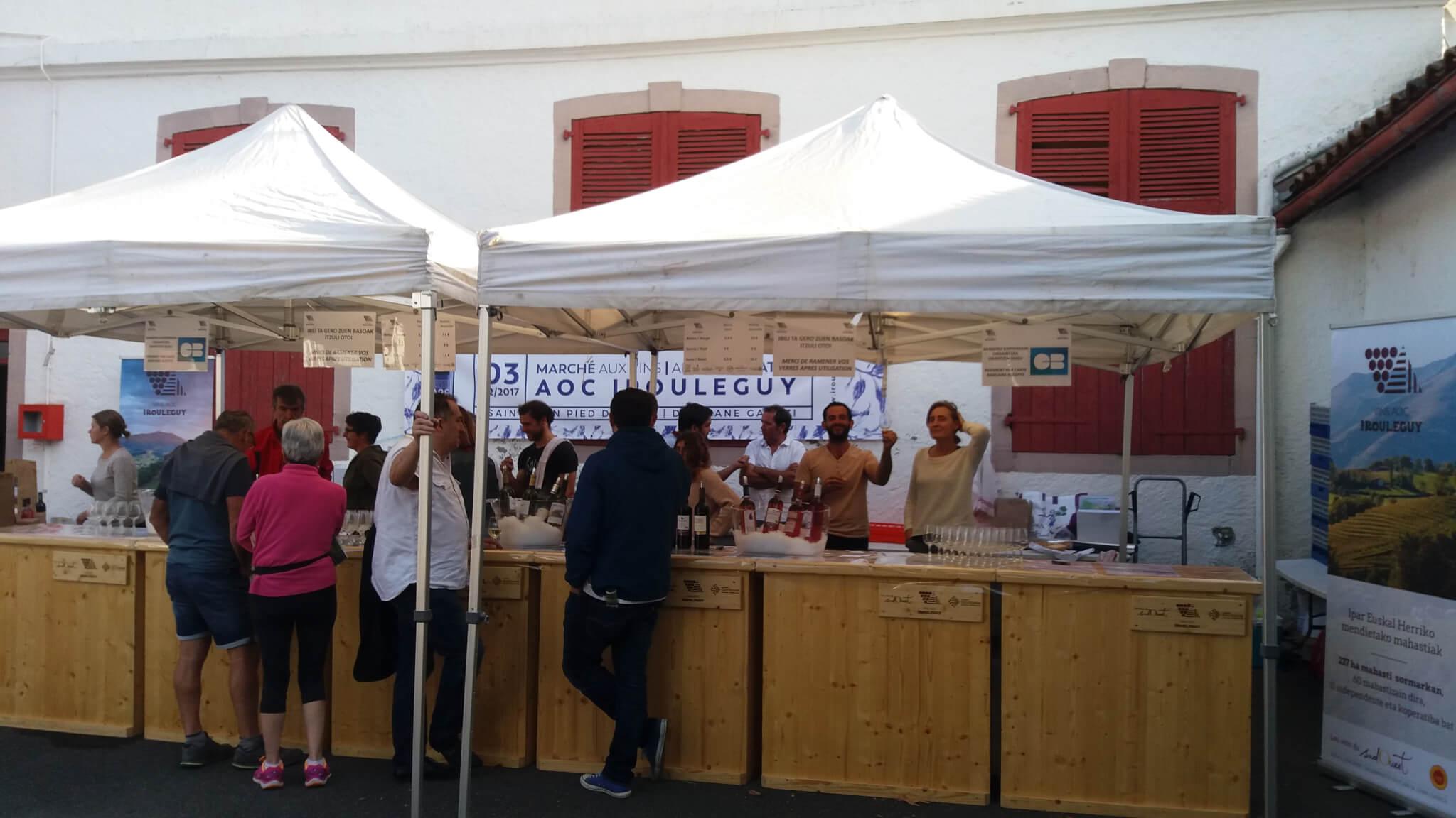 Les vins d'Irouléguy présents à la fête de l'AOC Kintoa