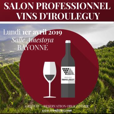 SALON PROFESSIONNEL DES VINS D'IROULEGUY (3ème édition)