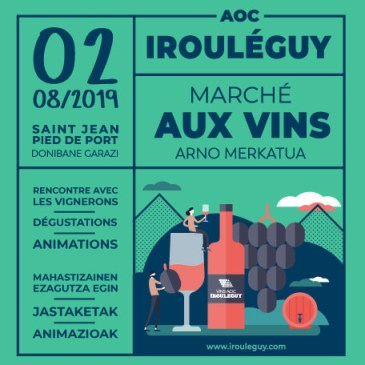 MARCHE AUX VINS D'IROULEGUY