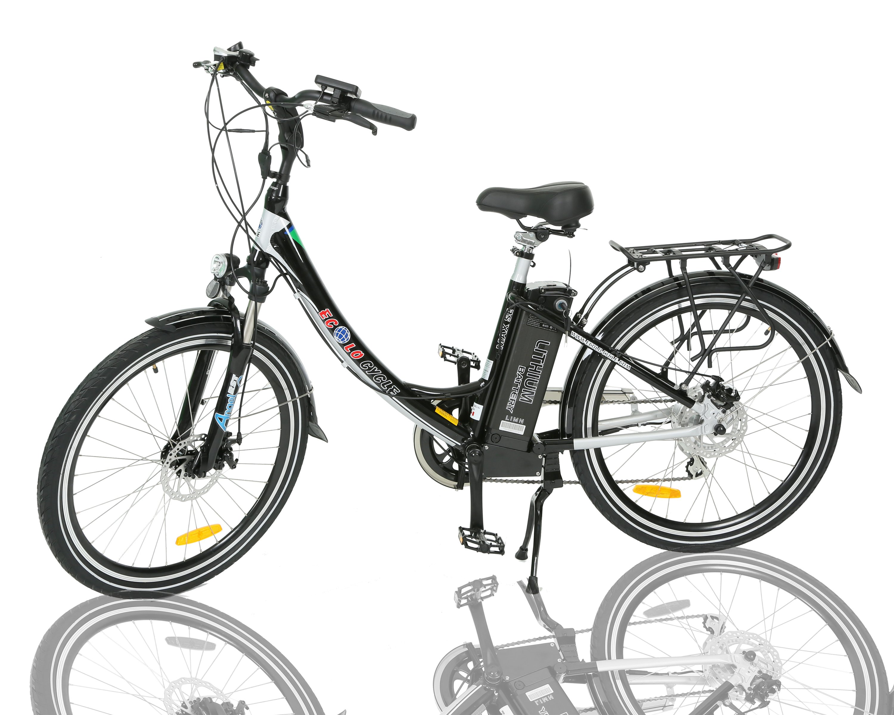 Ecolocycle Max S E Electric Bicycle