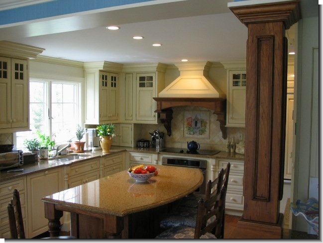 White Hills Woodworking Custom Cabinets Shelton CT