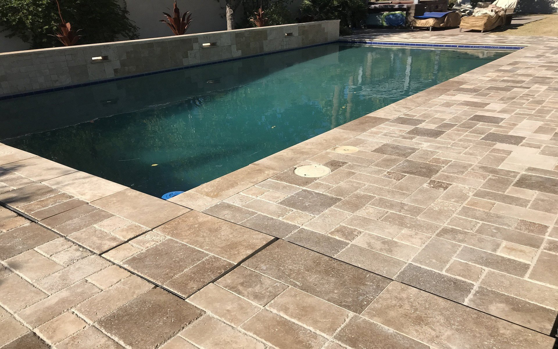 helpful tips for cleaning travertine pavers