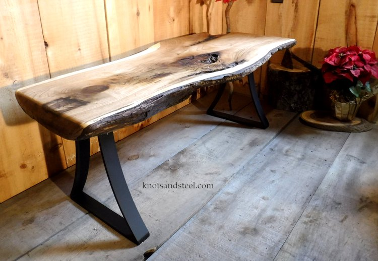 knots and steel live edge shop in the kawartha lakes