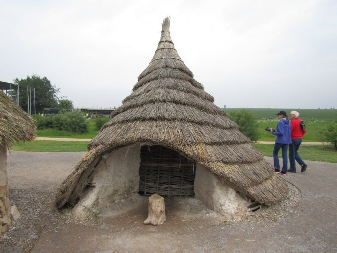 The ironage village at Stonehenge