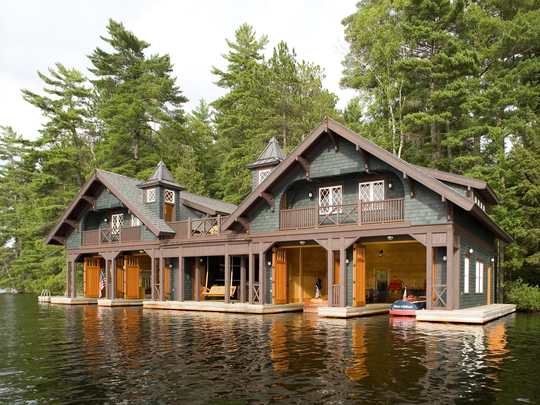 Boathouse Architect For The Adirondack
