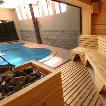 Hot tub and sauna installation for properties in North Wales Saunas  spas and hot tubs
