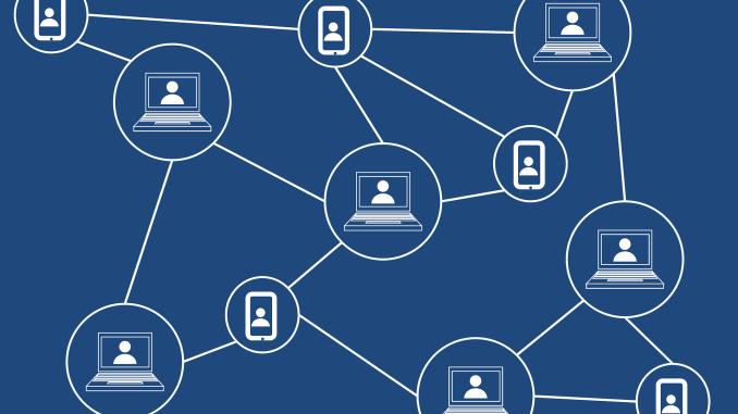 Schema di un medioambiente blockchain