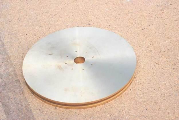 Worm-wheel by IR Poyser