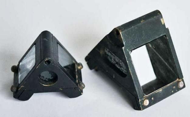 PR.11 Dove prism in brass holder, 22mm