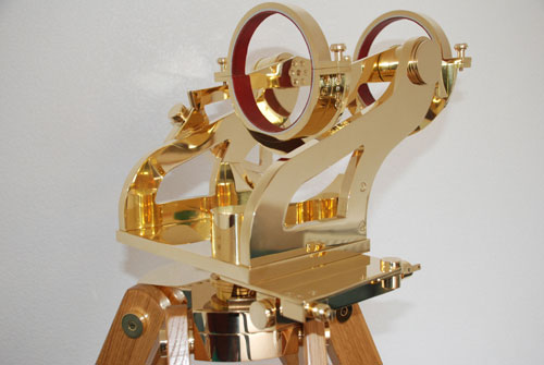 Brass Altazimuth Mount made by I R Poyser