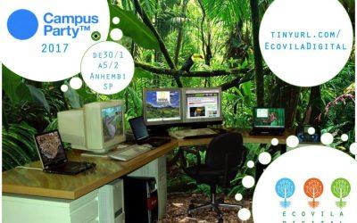 Ecovila Digital na Campus Party Brasil