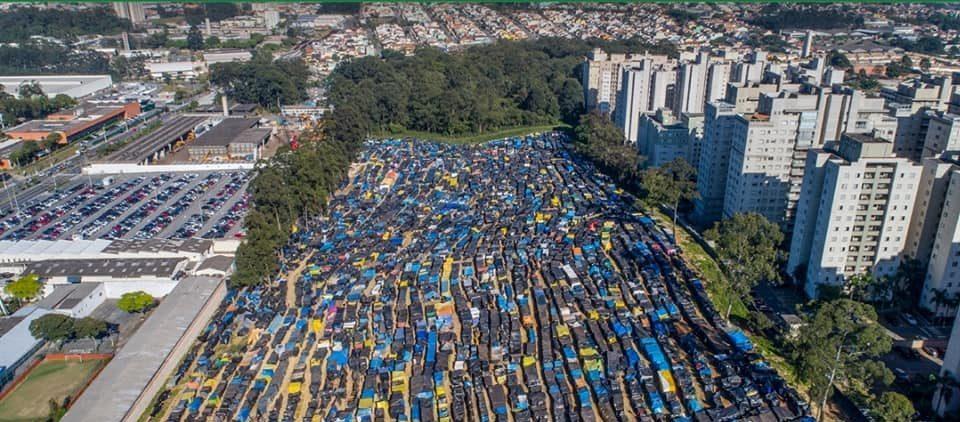 Ocupação do MTST em São Paulo