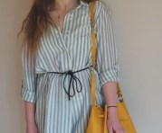 Shirt Dress: Zara £30, Bag: Zara