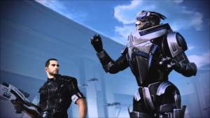 """My name is Garrus Vakarian and this is my favourite spot on the Citadel!"""