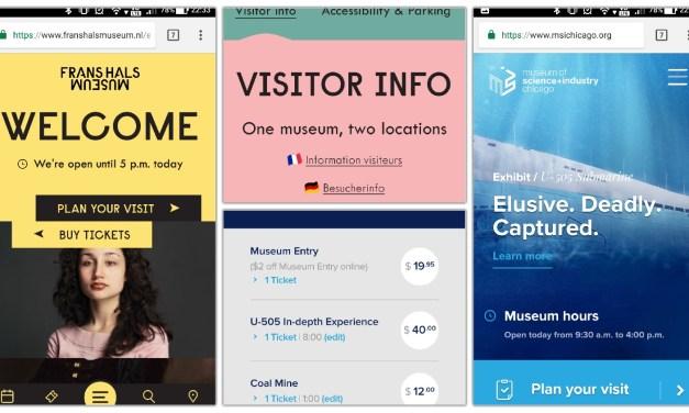 美術館・博物館の優れたwebサイト設計を考える