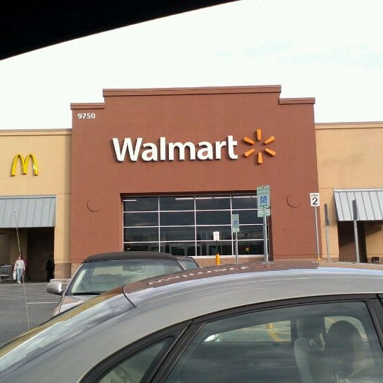 Walmart Big Box Store In Owings Mills