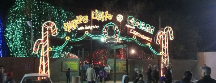 La Zoo Holiday Lights