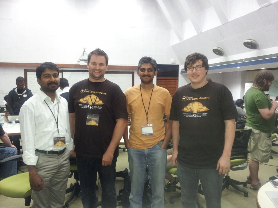 mediawiki Developer Camp on Bangalore from November 9 to 12, 2012