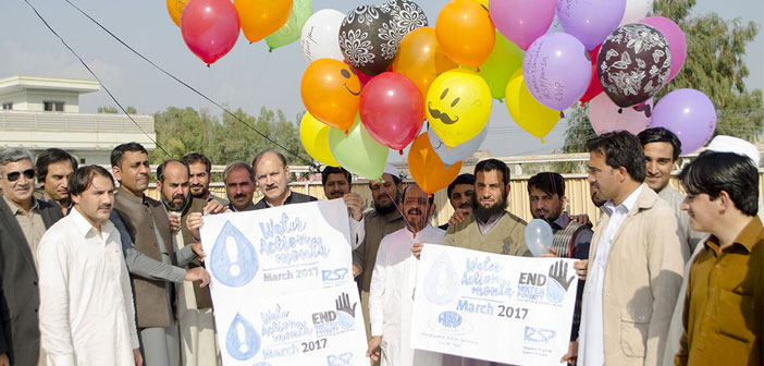 Water Action Month 2017 IRSP