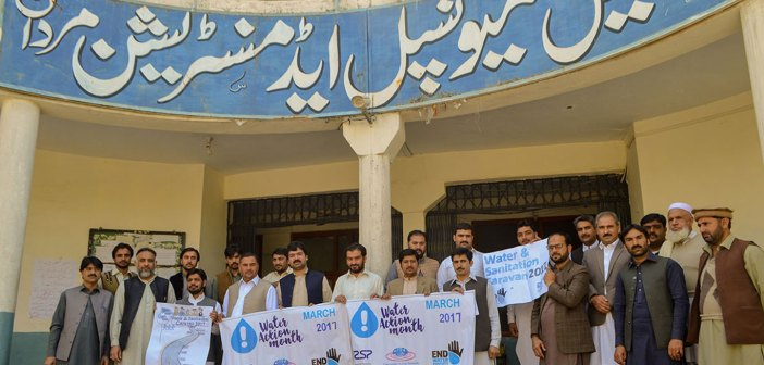 Water Action Month at TMA Mardan