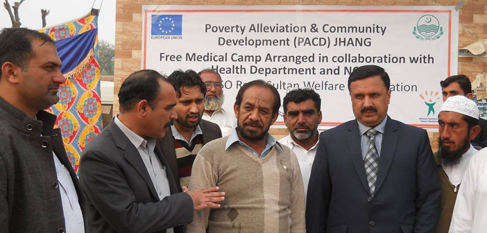 PACD Free Medical Camp Jhang