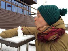 Christina und der Schneemann - big luv.