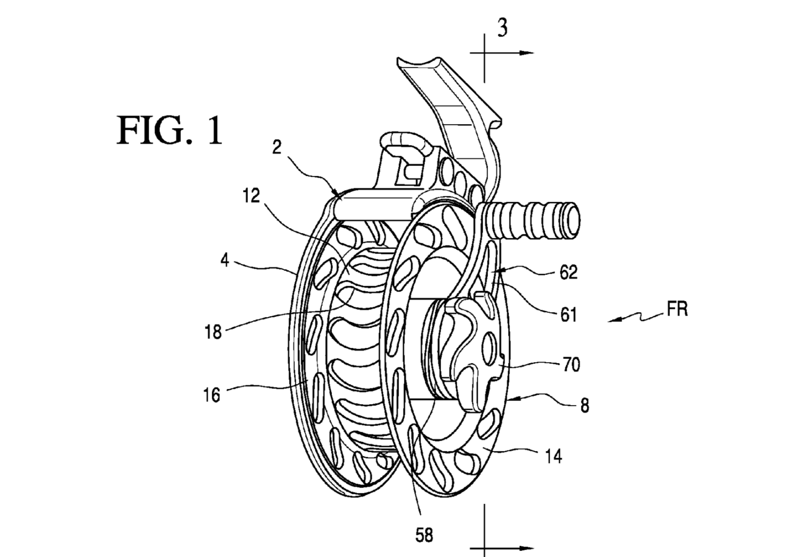 Fly Reel Handle Drag System Patent