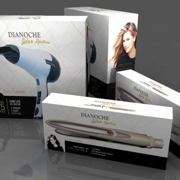 Product Line Packaging Concept (3-D Rendering)