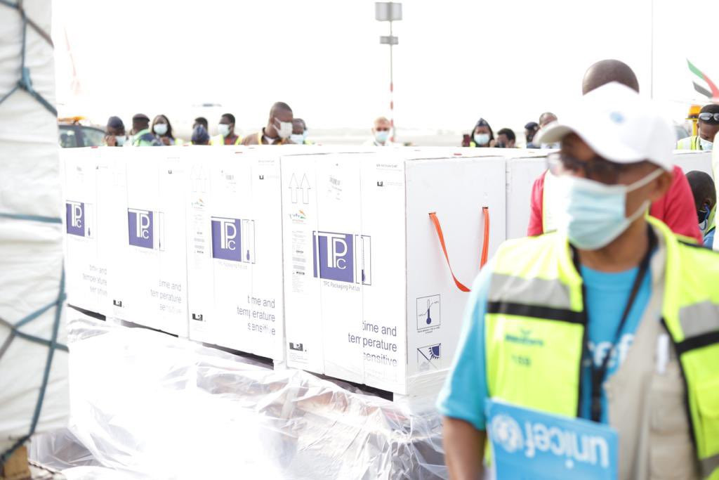 First Batch Of COVID-19 Vaccine Arrives Ghana