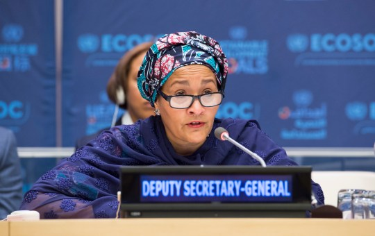 Nigeria's Economy Is Moving In The Right Direction - Amina Mohammed