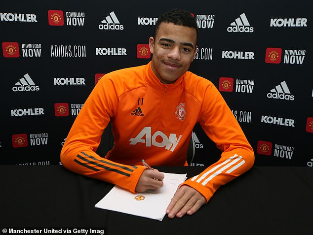 Mason Greenwood Signs Four-Year Contract With Manchester United