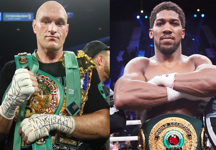Date And Venue Of Fight Between Anthony Joshua And Tyson Fury Revealed
