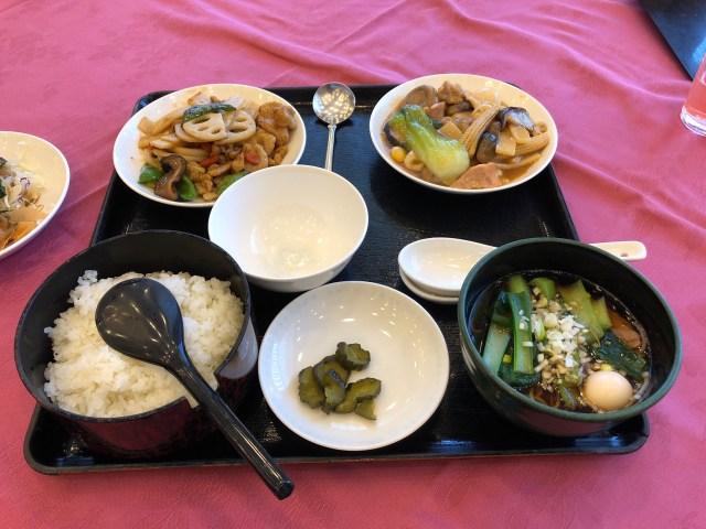 埼玉県飯能市のホテルマロウドインの中華料理