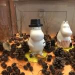 飯能市にあるトーベヤンソンあけぼの子どもの森公園のムーミンの飾り