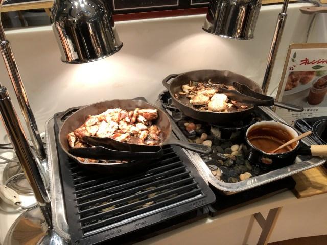 アウトレット入間のブッフェザフォレストの肉料理