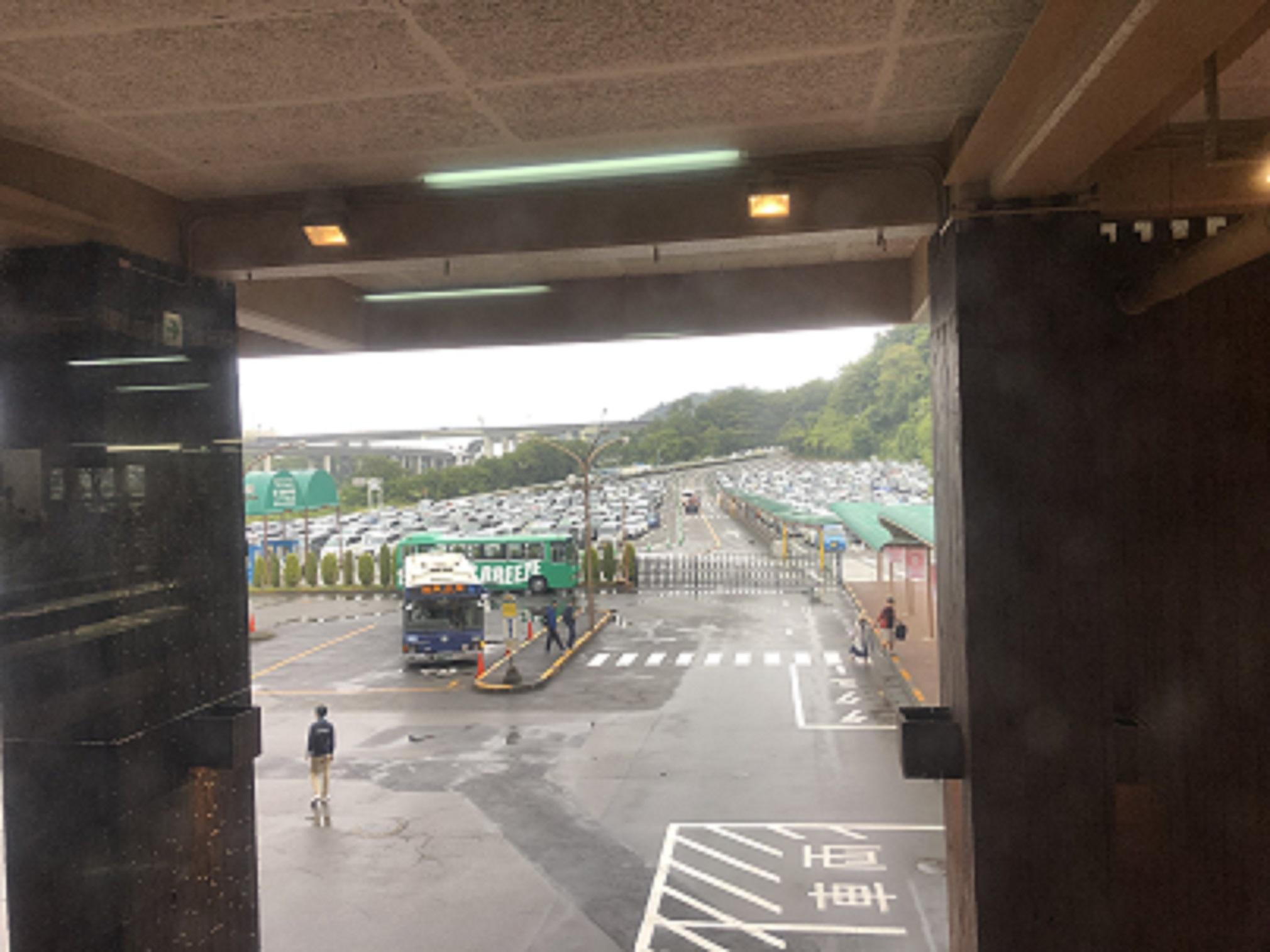 サマーランドの駐車場の混雑11時20分