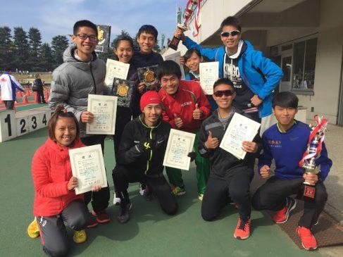 Runners at the Ageo City Half Marathon where 361 runners broke 70 minutes. Image via Japan Running News.